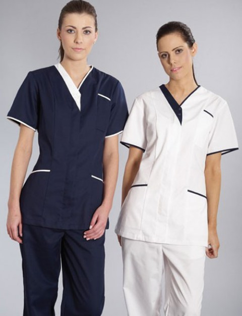 Healthcare uniform alexander fashions customized for Spa uniform uae